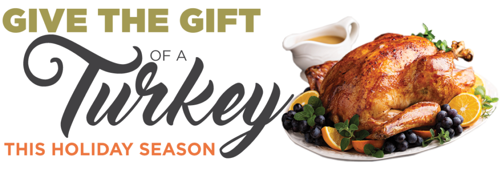 Give the Gift of A Turkey