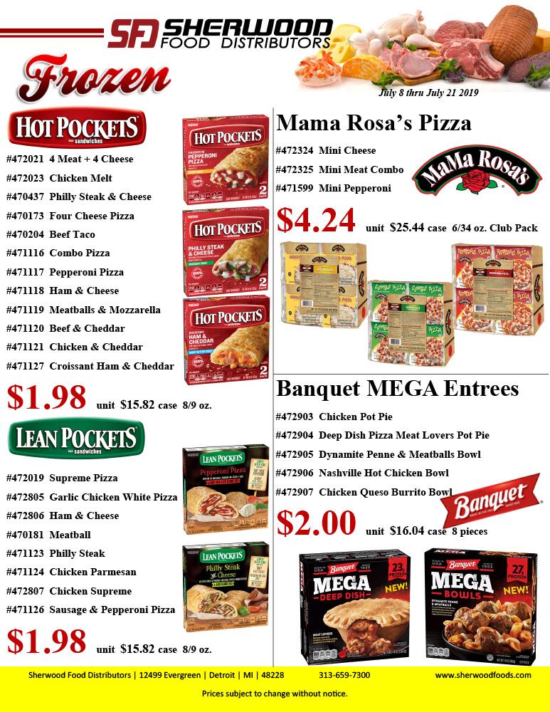 Detroit Sales Flyer - Sherwood Food Distributors